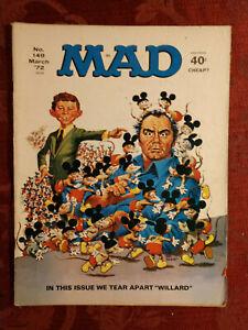 RARE MAD magazine March 1972 WILLARD Sports Spectators