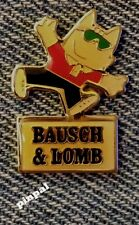 Bausch & Lomb Olympic Sponsor Pin~1992 Barcelona~Mascot Cobi with Sun Glasses
