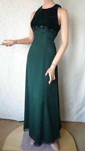 SIZE-10, MR K Gorgeous Valour & Lace Bodice Evening Dress Made In Australia.