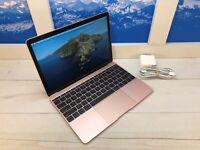 "Apple MacBook Retina 2017 12"" Laptop 512GB 1.3GHz 8GB RAM Rose Gold 57 cycles"