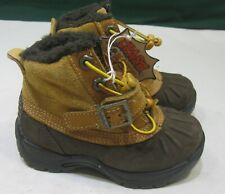 NEW Timberland Toddler BROWN Mallard Winter waterproof Boots 91834M  7 C