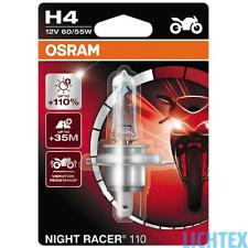 H4 OSRAM Night Racer +110% mehr Licht  - Modernes Design Performance - NEU