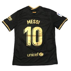 FC Barcelona 2020-2021 Lionel Messi 10 Away Football Jersey Men Soccer Shirt NEW