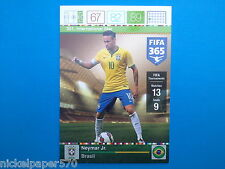 Panini Adrenalyn XL Fifa 365 Card n.351 International Star Neymar Brasil