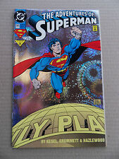 Adventures Of Superman 505 . Holo - Graphix Foil Cover - DC 1993 - FN / VF