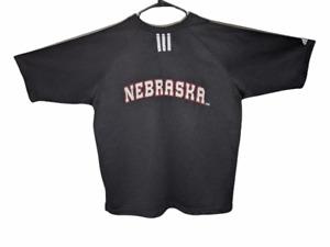 Adidas Mens 2XL Black Short Sleeve Basketball Jersey XXL
