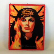 KING DIAMOND Fatal Portrait (RED Border Printed Small Patch) (NEW)