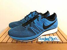 2012 Nike Flyknit Trainer Blue Glow Pre Olympic Trials 1/400 Mens US Size 8 BNIB