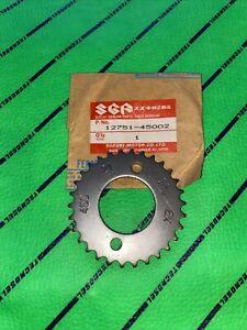 Suzuki Oem Nos GS 850 G 1980-1986 Camshaft Exhaust Sprocket 12751-45002