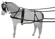 Pony Driving Harness - Challenger - Black Nylon - Pony Size