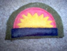 WWI US Army patch 41st Infantry Division Patch AEF