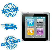 Apple iPod Nano 8GB 6th Gen Generation Silver MP3  **3 MONTH WARRANTY**