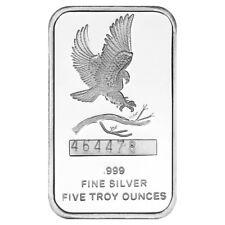5 oz SilverTowne Eagle Silver Bar (New)