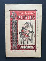 Les Jeunes Artistes N° 22. Enfantina, coloriage. Monrocq Edition.