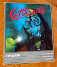 "Cutthroats Infocom Apple Mac Macintosh Computer Game on 3.5"" Floppy Disk"
