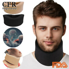 CFR Cervical Collar Soft Neck Support Shoulder Press Relax Brace Pain Relief