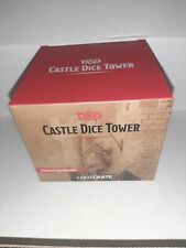 Loot Crate Dungeons and Dragons Castle Dice Tower 22mm D20