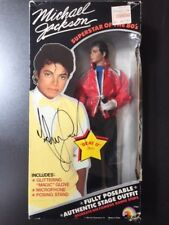 1984 Michael Jackson PSA HAND SIGNED 2X FRONT & BACK Autographed THRILLER Doll