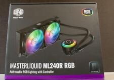 Cooler Master MasterLiquid ML240R RGB CPU Liquid Water Cooler Heat Sink Cooling