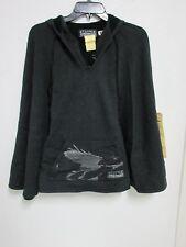 Da-Nang Surplus Women's Poncho Embroidered BLACK FHT30871642 Size: X-SMALL