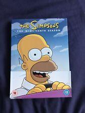 The Simpsons: The Nineteenth Season Region 2 DVD Box Set