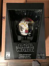 MASTER REPLICAS STAR WARS Luke Skywalker X-WING HELMET.45 Scaled NEW MIB