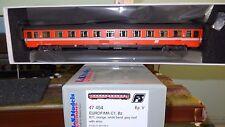 LS MODELS 47454 UIC-Z Eurofima 2 classe Arancio fascia grigia, logo inclinato FS