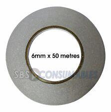 Illbruck 10m x 6mm Double Sided PE Foam Tape Draught Excluder Seal Strip #24R140