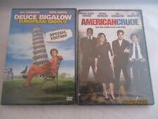 2 Rob Schneider Films. Comedy/Drama. Deuce Bigalow / American Crude. Rated R