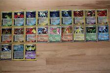 Team Aqua vs Team Magma EX Holo Foil Rares Pokemon Cards