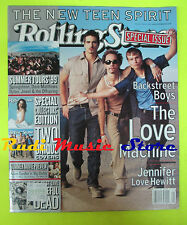 ROLLING STONE USA MAGAZINE 813/1999 Backsteet Boys Springsteen Dylan   No cd
