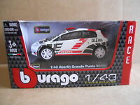 ABARTH GRANDE PUNTO S2000 - Car Model 1:43 Die Cast BURAGO [MV123]