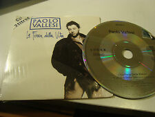 RAR SINGLE CD. PAOLO VALLESSI. LA FORZA DELLA VITA. ED. CARTÓN. MADE IN FRANCE