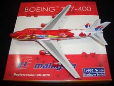 "*AIRSTORE* Phoenix 1:400 Diecast Malaysia Airlines B747-400 ""Hisbiscus"" 9M-MPB"