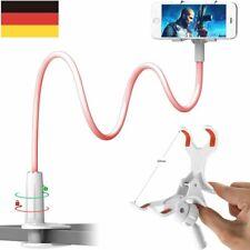 360° Halterung Tisch & Bett Schwanenhals Halter Ständer für Handy Samsung iPhone