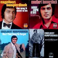 ENGELBERT HUMPERDINCK - (4) PICTURE SLEEVES - PARROT LABEL