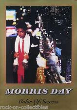 MORRIS DAY 1985 COLOR OF SUCCESS PROMO POSTER
