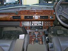 37 pièce Noyer ou fibre de carbone Dash Kit Range Rover Classic 1986-1995 RHD/LHD