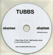 (AB364) Tubbs, New Way Of Life - DJ CD