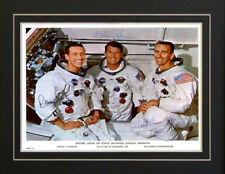 Apollo 7 NASA Astronaut Rocket Autographed Signed Photo