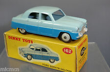 Dinky Toys Modelo No.162 Ford Zephyr Saloon VN MIB