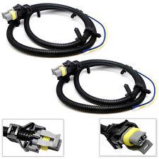 2 x New ABS Wheel Speed Sensor Wire Harness For 2001-2005 Pontiac Aztek 3.4L