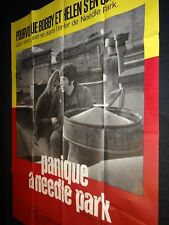 PANIQUE A NEEDLE PARK Kitty Winn AL PACINO Jerry Schatzberg  affiche cinema 1971