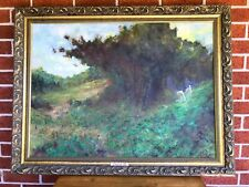 Superb LARGE ORIGINAL Oil on Canvas Painting Signed by ARTIST Robert Bosler