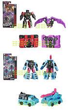 Transformers SIEGE War Micromaster Rumble Ratbat+Battle Squad Soundwave Spy Team