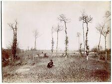 Tirage citrate 19 x 26 cm - Parmilieu 38 Isère - 1895 - Pictorialisme -