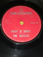 THE BEATLES - TWIST AND SHOUT / BOYS. New Zealand 7""