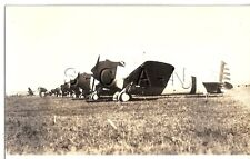 WWII US Large Defender RPPC- AAC Airplane- Seversky P-35 Attack Plane- 1930s-40s