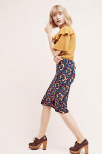 NWT Anthropologie Geometrique pencil skirt by Maeve, L, As seen on TV bones