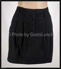 Portmans Cotton Blend Solid Skirts for Women